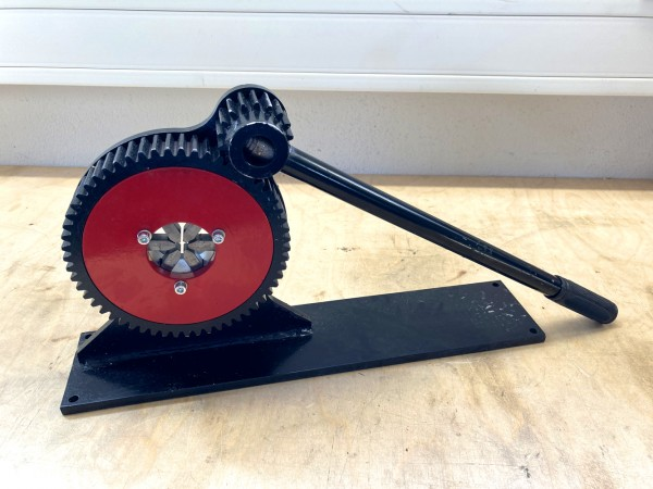 6-Backen Niederdruck Schlauchpresse HC-636-6 | Pressbereich 6-38mm | mobil und robust